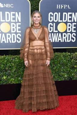 golden-globes-red-carpet-gwyneth paltrow - getty images