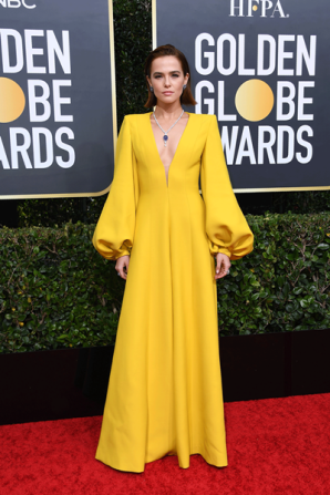 golden-globes-red-carpet zoey getty