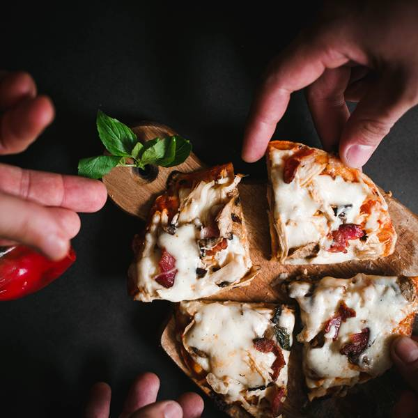 pizza de pao