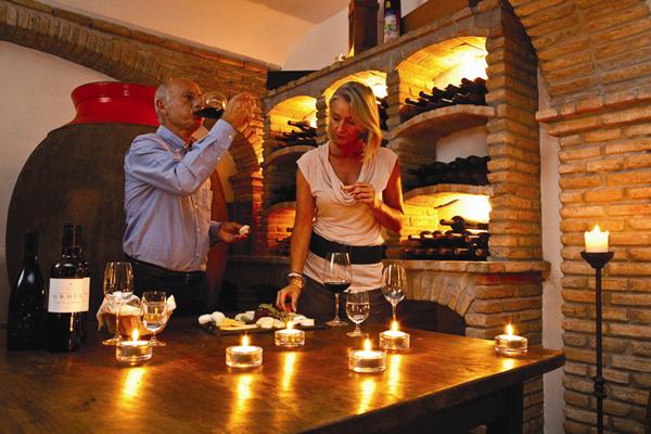 Prova de Vinhos - Herdade dos Grous - Credito Turismo do Alentejo