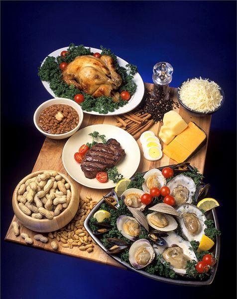 alimentos zinco vitamina pixabay
