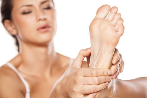 bolha pés mulher woman fitness