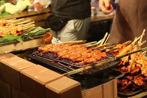 comida de rua churrasco pixabay