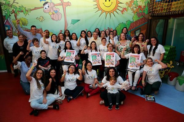 Crianças com Distrofia Muscular de Duchenne visitam a Mauricio de Sousa Produções