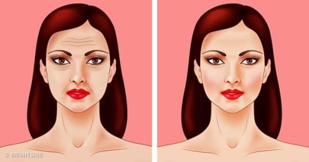 desenfo rosto antes e depois
