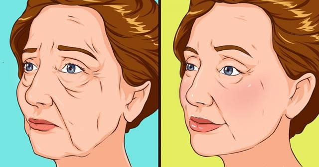 mulher rosto flacido antes depois brightside