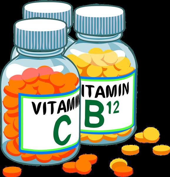 vitaminas ilustração pixabay