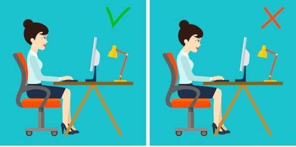 correct-incorrect-sitting-posture-computer-260nw-591058505
