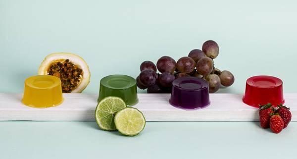 gelatina vegana de algas marinhas