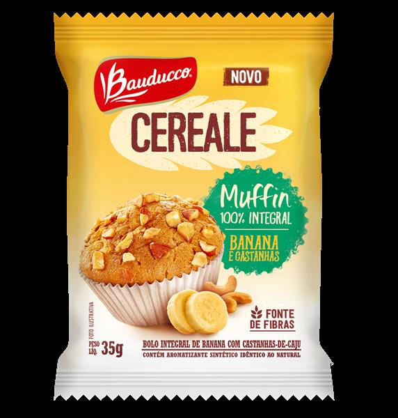 Muffin Banana e Castanhas 1