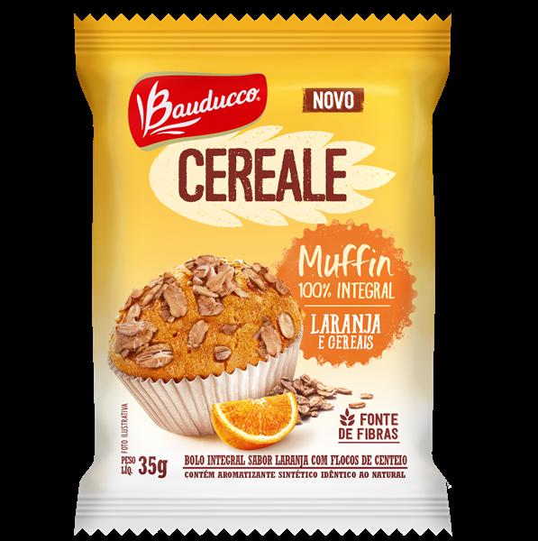 Muffin Laranja e Cerais 1