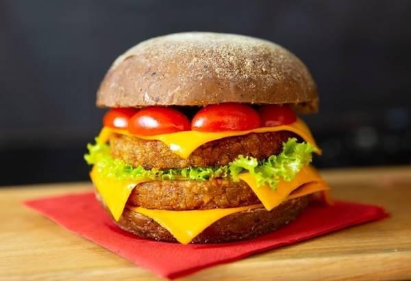 burger grao de bico