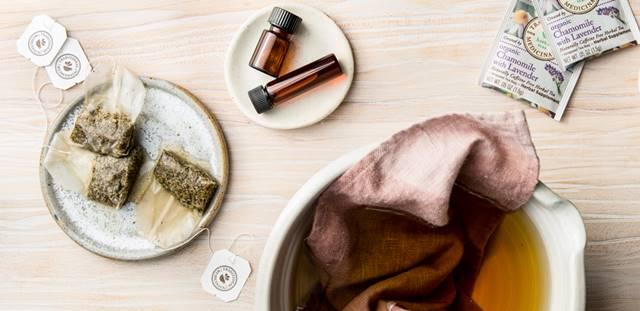 camomila compressa traditional medicinals