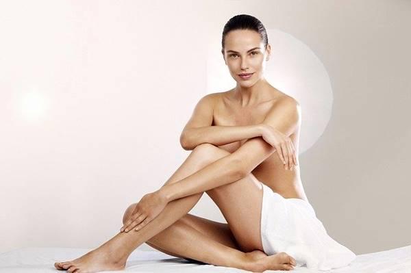 mulher depilacao corpo