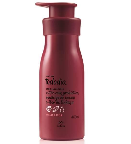 Natura Creme Desodorante Nutritivo para o Corpo Cereja e Avelã Tododia