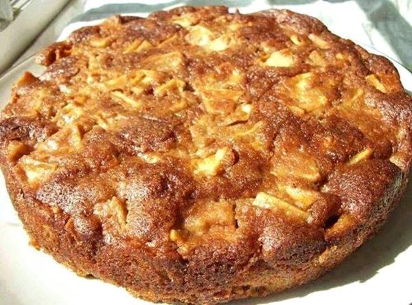 torta maça just a pinch