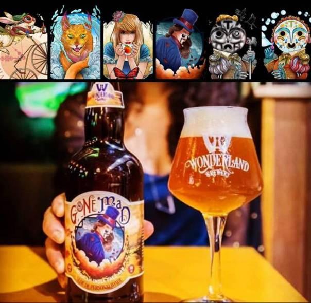 wonderland cervejas