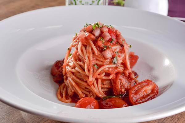 spaghetti A matriciana