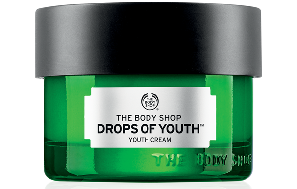 the body shop youth cream olhos