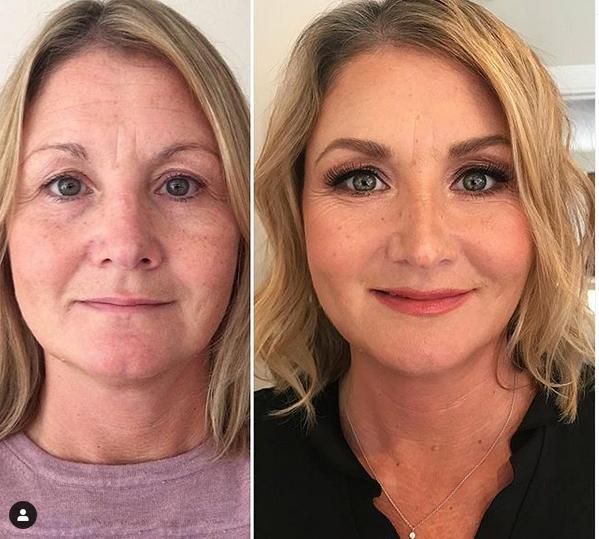 maquiagem antes e depois callistalorian