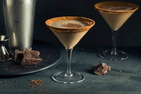 martini de chocolate