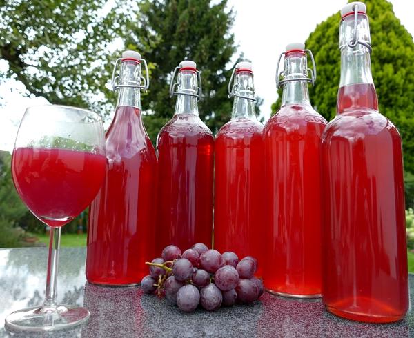 suco de uvas Babs Müller por Pixabay