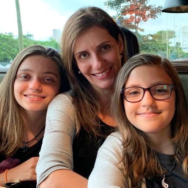 vanessa e filhas